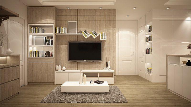 Design multicolore de l'intérieur d'une maison
